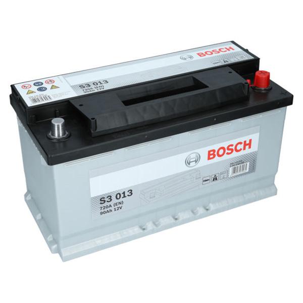 Baterie BOSCH S3 013 12V 90AH 720A