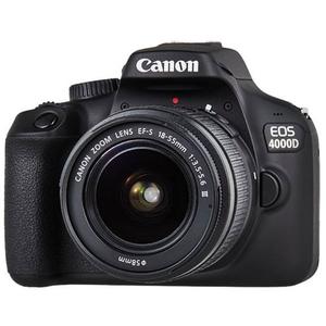 Camera foto digitala CANON EOS 4000D+ Obiectiv 18-55 SEE, Wi-Fi, 18Mp, negru