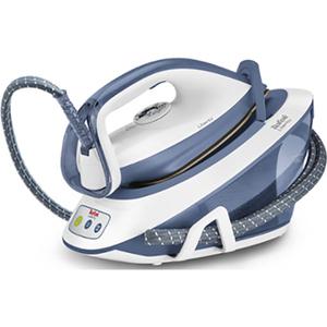 Statie de calcat TEFAL Liberty SV7020E0, 1.5l, 290g/min, 2200W, talpa ceramica, alb - albastru
