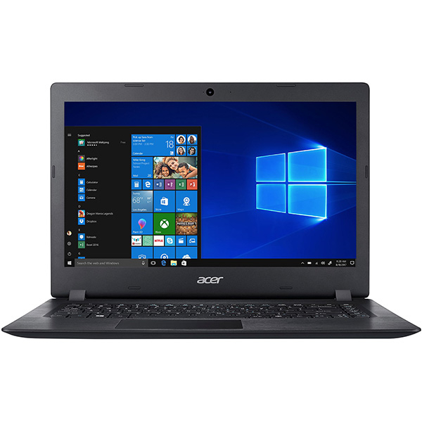 "Laptop ACER Aspire A114-31-C2FF, Intel Celeron N3450 pana la 2.2GHz, 14"" HD, 4GB, eMMC 64GB, Intel HD Graphics 500, Windows 10 S, negru"