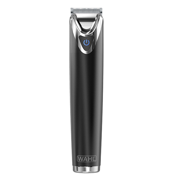 Trimmer WAHL Stainless Steel Advanced 09864-016, baterie, argintiu