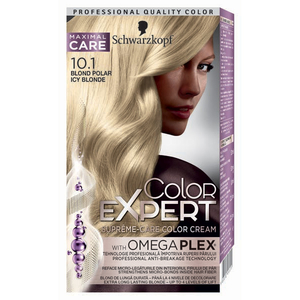 Vopsea de par Schwarzkopf Color Expert, 10-1 Blond Polar, 147 ml