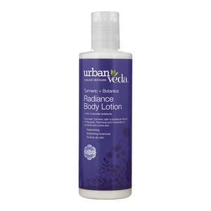 Lotiune de corp hidratanta URBAN VEDA Radiance, cu extract de Turmeric organic, 250ml
