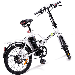 Bicicleta electrica FREEWHEEL EBIKE URBAN, alb