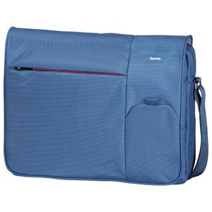 """Geanta laptop HAMA Messenger Marseille, 15.6"""", poliester, albastru"""