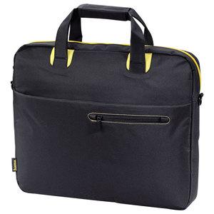"""Geanta laptop HAMA San Francisco 101170, 15.6"""", nailon, negru-galben"""