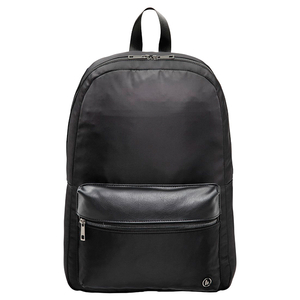 "Rucsac laptop HAMA Mission 101594, 15.6"", negru, fermoar negru"