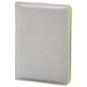 Husa Book Cover pentru iPad Air, HAMA Lissabon 104647, argintiu-verde