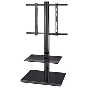 Stand podea HAMA 108764, 81-140 cm, negru