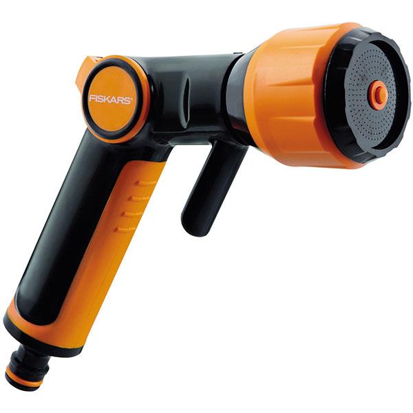 Pistol universal pentru stropit FISKARS 1023665, negru-portocaliu