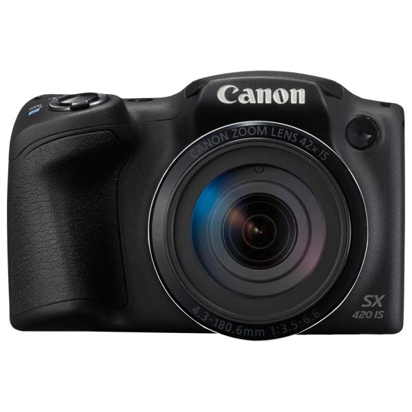 Camera foto digitala CANON PowerShot SX420 IS, 20Mp, 42x, 3 inch, Black