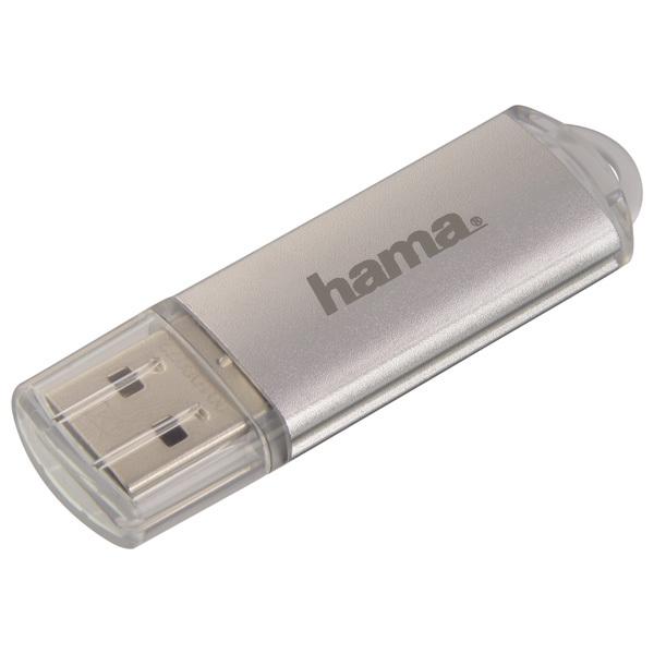 Memorie portabila HAMA Laeta 108072, 128GB, argintiu
