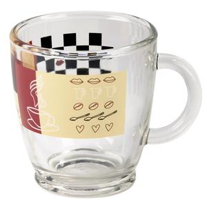 Cana de cafea XAVAX 111084, 0.38l, sticla, multicolor