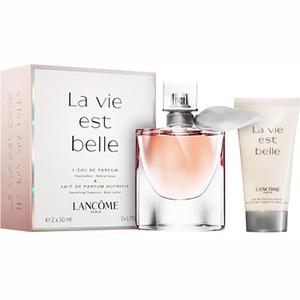 Set cadou LANCOME La Vie Est Belle: Apa de parfum, 50ml + Lotiune de corp, 50ml