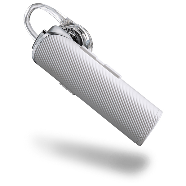 Casca Bluetooth PLANTRONICS Explorer 115, White + Suport grila ventilatie