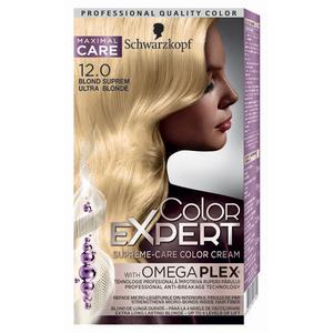 Vopsea de par SCHWARZKOPF Color Expert, 12.0 Blond Suprem, 147ml