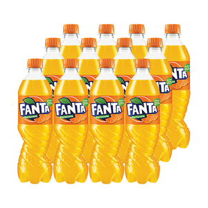 Bax bautura racoritoare FANTA ORANGE, 0.5L, 12 sticle