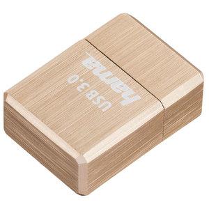 Memorie portabila HAMA Micro Cube 124170, 64GB, USB 3.0, gold