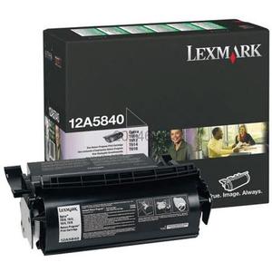 Toner LEXMARK 12A5840 CTG OPTRA T Return Program, negru