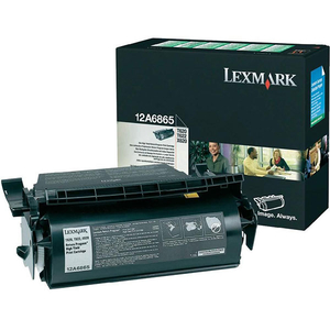 Toner LEXMARK XL 12A6865 Return Program, negru