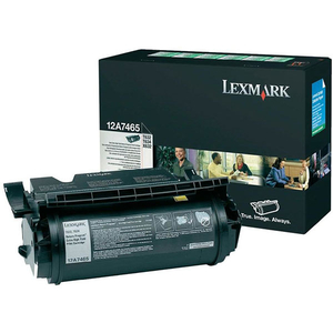 Toner LEXMARK 12A7465 TONER CTG T632 Return Program, negru