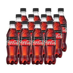 Bax bautura racoritoare COCA COLA Zero, 0.5L, 12 sticle