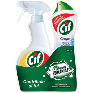 Pachet CIF UltraFast 500ml + Original 500ml