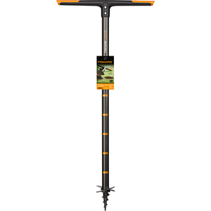 Burghiu de pamant Fiskars QuikDrill S 134710, 110cm, otel