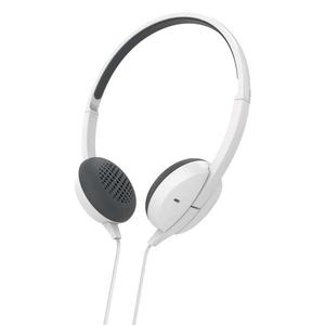 Casti HAMA Advance 137450, Cu Fir, On-Ear, Microfon, alb