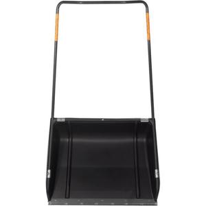 Impingator profesional pentru zapada tip sanie Fiskars Sledge 143040, 148cm, negru