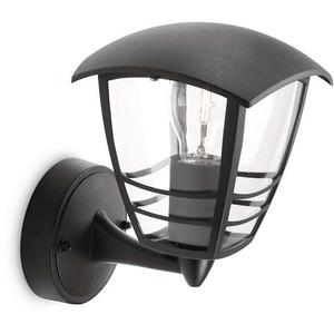 Lampa de perete PHILIPS myGarden 15380/30/16, 60W, IP44, negru