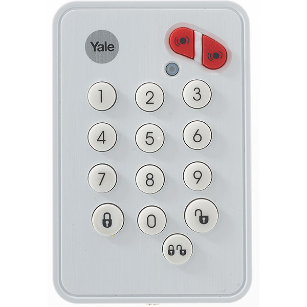 Telecomanda de perete pentru alarma SR-3200i, YALE 60-A100-00KP-SR-5011