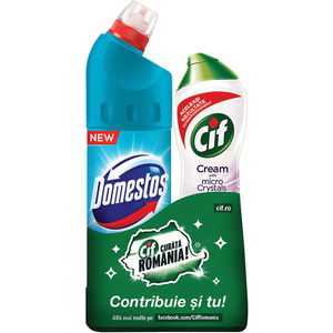 Pachet CIF Lila 500ml + Power Atlantic Fresh 750ml