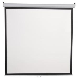 Ecran de proiectie SBOX PSM-118, 213 x 213 cm