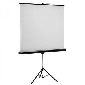 Ecran de proiectie cu trepied SBOX PSMT-135, 240 x 240 cm