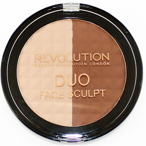 Paleta de conturare MAKEUP REVOLUTION LONDON Duo Face Sclupt, 15g