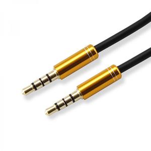 Cablu audio SBOX CAB0106, Jack 3.5mm, 1.5m, Auriu