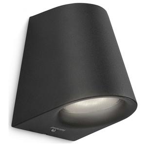Lampa de perete PHILIPS myGarden Virga 17287/30/16, 3W, IP44, negru
