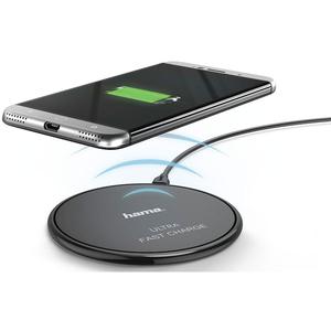 Incarcator wireless HAMA 178270 Ultra Fast Charge, Negru
