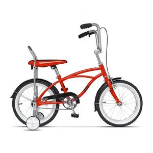 Bicicleta pentru copii PEGAS Mezin 2017, Baiat, Rosu Bomboana