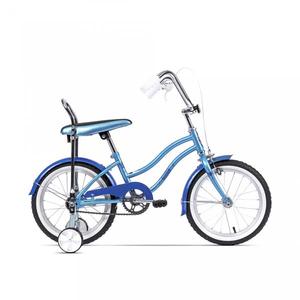 Bicicleta pentru copii PEGAS Mezin 2017, Fata, Bleu Arctic