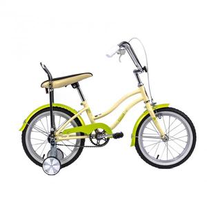 Bicicleta pentru copii PEGAS Mezin 2017, Fata, Crem Inghetata