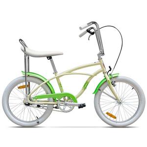 Bicicleta pentru copii PEGAS Strada Mini 1S, 2017, Crem Inghetata