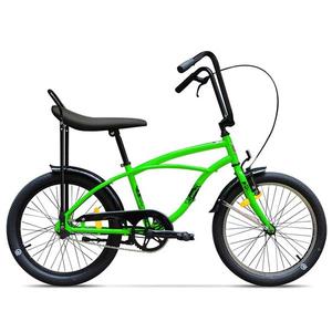 Bicicleta pentru copii PEGAS Strada Mini 1S, 2017, Verde Neon