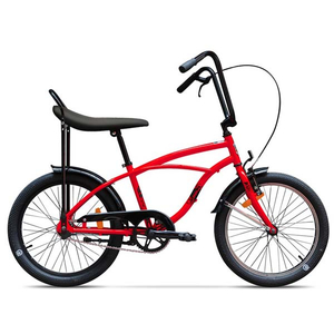 Bicicleta pentru copii PEGAS Strada Mini 1S, 2017, Rosu Bomboana