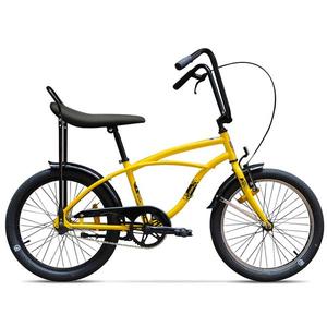 Bicicleta pentru copii PEGAS Strada Mini 1S, 2017, Galben Bondar