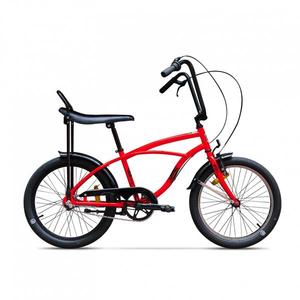 Bicicleta pentru copii PEGAS Strada Mini 3S 2017, Rosu Bomboana