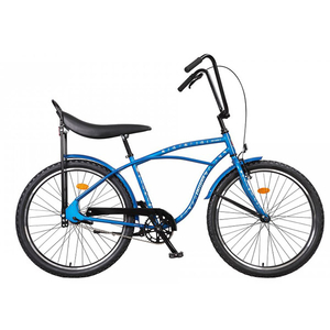 Bicicleta de oras PEGAS Strada1 Iconic Otel 2S, Albastru