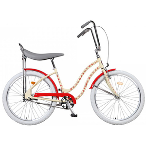 Bicicleta de oras PEGAS Strada2 Iconic Otel 2S, Crem