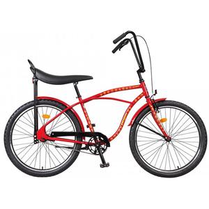 Bicicleta de oras PEGAS Strada1 Iconic Otel 2S, Rosu